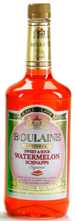 Boulaine Schnapps Sweet & Sour Watermelon 1.00l - Case of 12